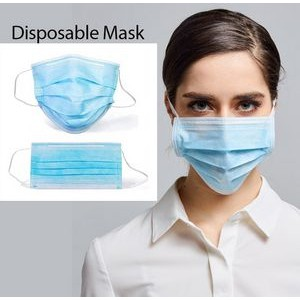 High-filtration efficiency Disposable Face Mask Stock in California BFE��95